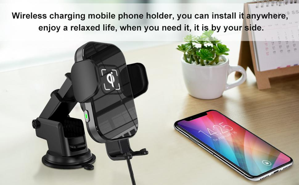 15w wireless car charger