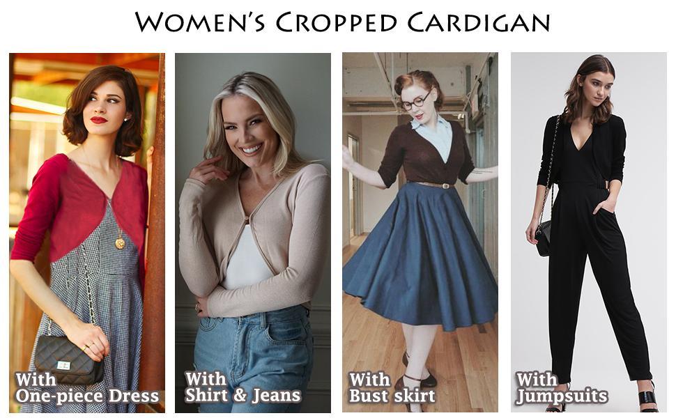 Shrug Bolero Cardigan for Womens
