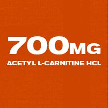 700mg acetyl l-carnitine hcl