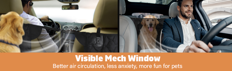 Better air circulation, less anxiety, more fun for pets