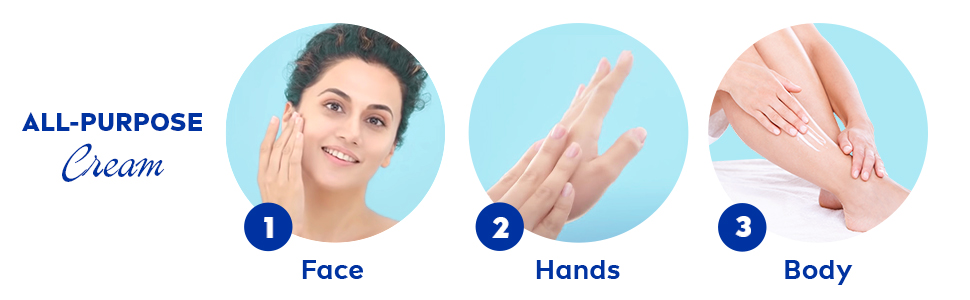 For Face, Hands & Body