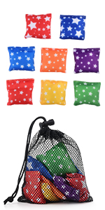 Small Bean Bags Tossing