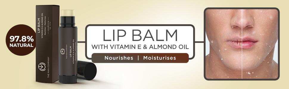 Lip Balm for Men chapped lips