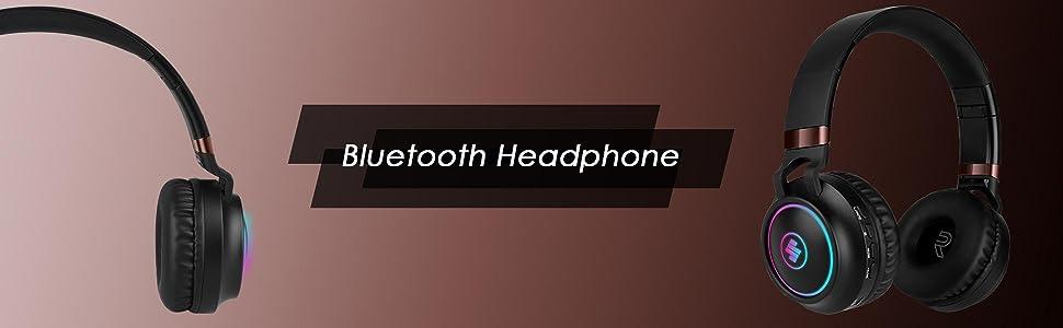 wireless headphone on ear