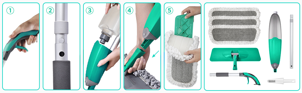 cleaning mops for home