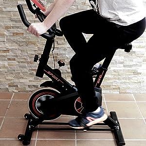 bicicleta de spinning indoor, bicicleta estática indoor, bicicleta de spinning barata