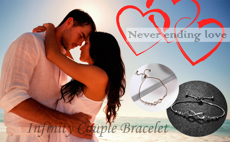 Infinity Couple Bracelet