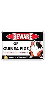 Guinea Pig Sign