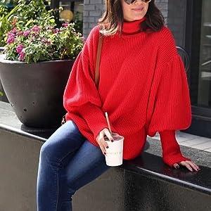 black sweater winter sweater for women