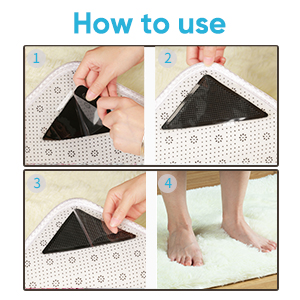 How to use rug grupper