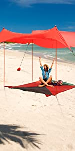 family beach sun shade fishing caddy flowing hatchback tent lightweight pop up lycra canopy
