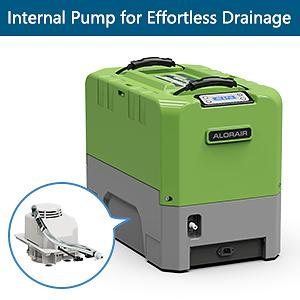 commerical dehumidifier with Pump