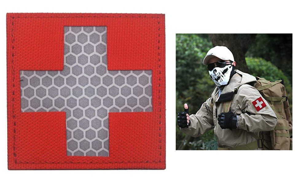 Reflective Medic Patches
