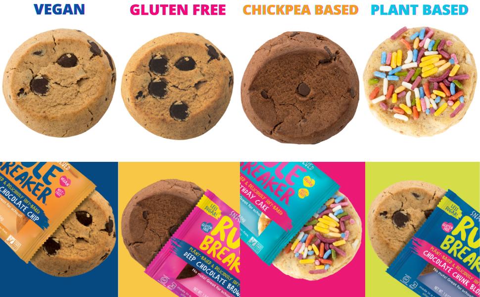 chickpea cookies, guilt free healthy gluten free blondie brownies