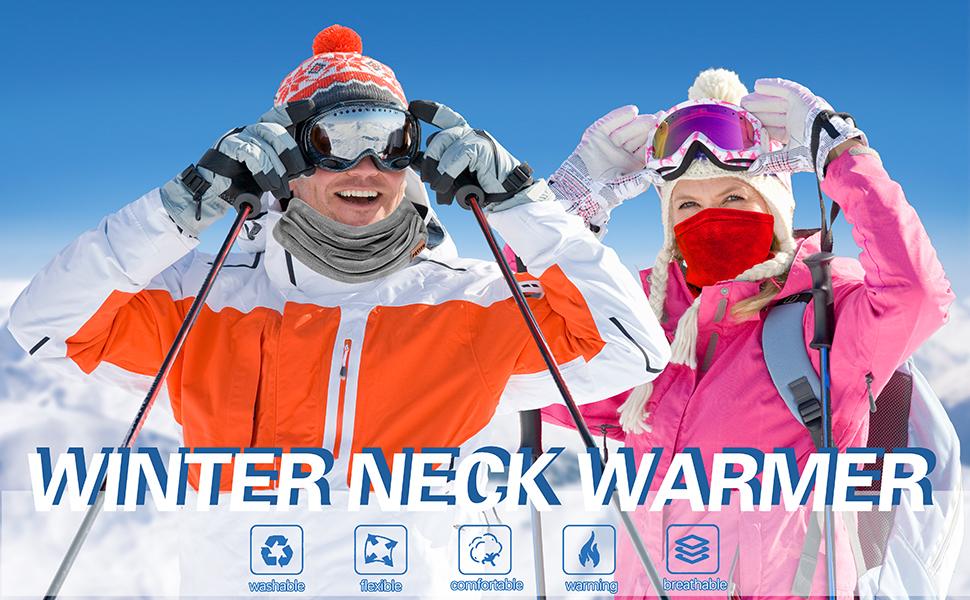 neck warmer for women men