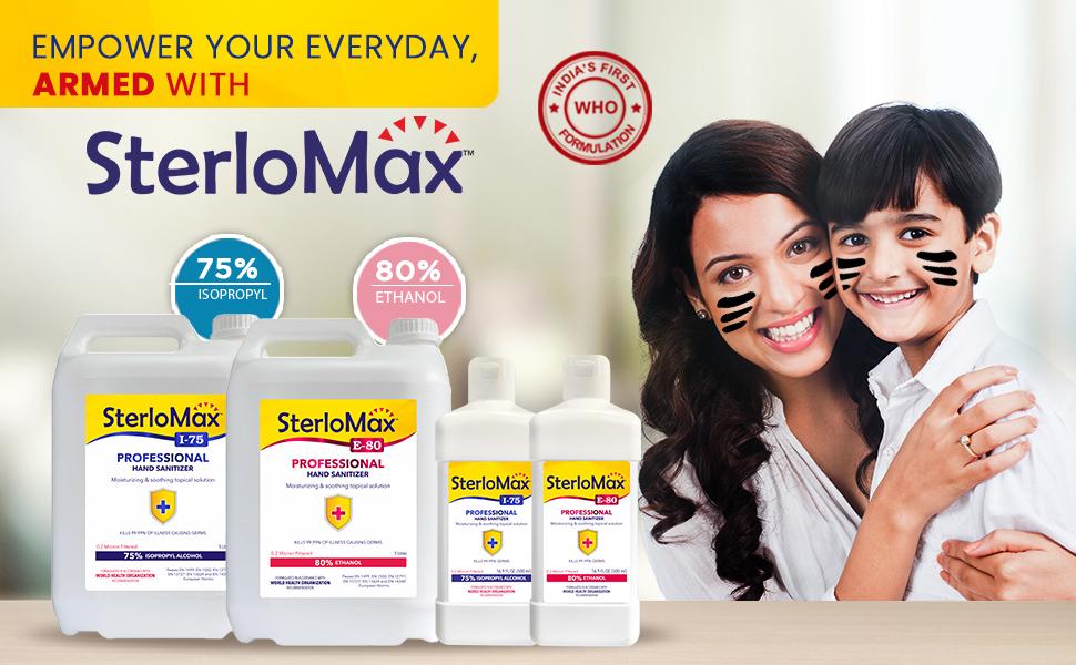 SterloMax product Range