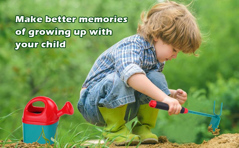 Kids Garden Toys with Wheelbarrow