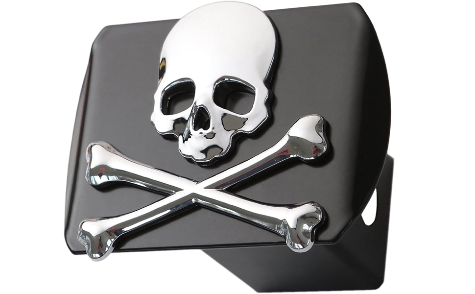 Metal Skull Hitch Cover