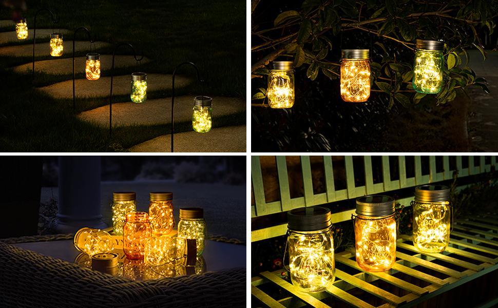 mason jar outdoor lights