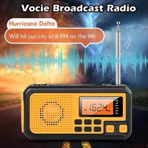Voice Broadcast Weather Radio