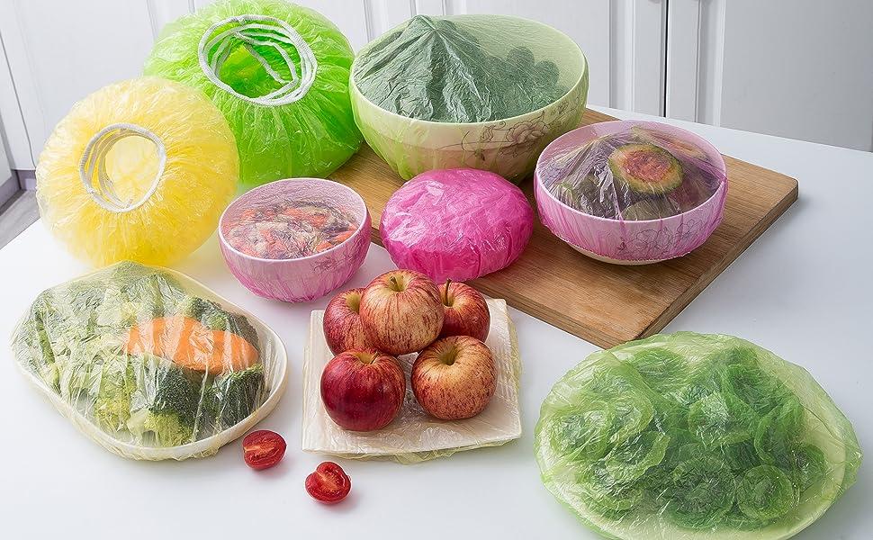 食品盖可拉伸可重复使用