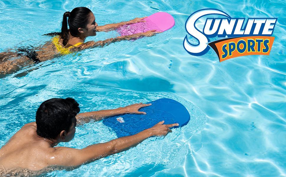 blue kickboard sunlite sports pink colorful water sport swimming gear equipment training