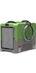 commercial dehumidifier in green