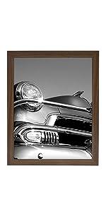 18x24 walnut frame