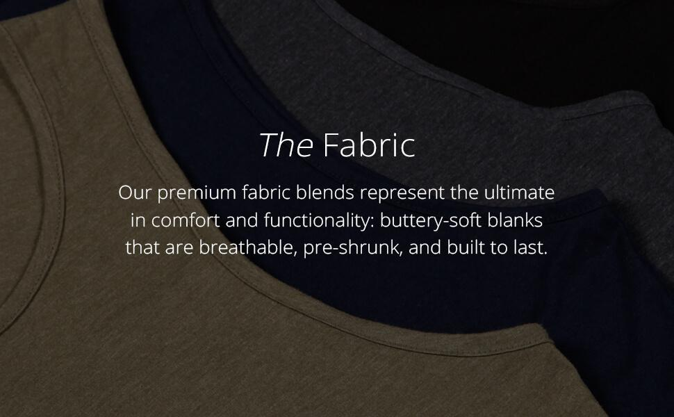 ITAM Basic Tanks fabric - Designed with you in mind