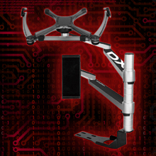 Aluminum Multifunctional Bracket for Mobile Phone / Tablet / Laptop