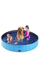 PVC Foldable Pet Swimming Pool Outdoor Bathtub