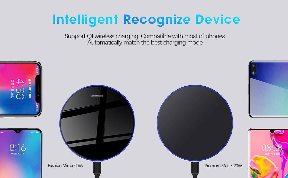 15W Max Fast Wireless Charging Pad