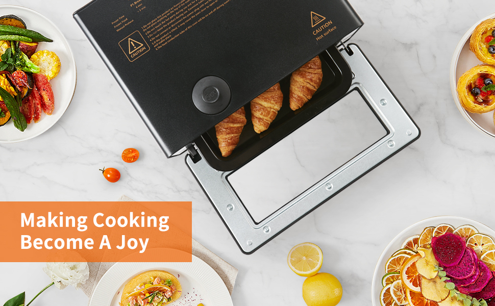 Toaster Oven Steam Oven Toaster Countertop Steam Oven  Convection Oven