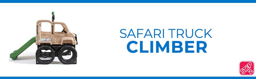 safari truck climber