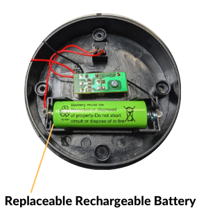 Rechargeable NiMH Battery Is Easy Replaced