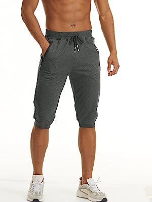 3/4 capri shorts for men
