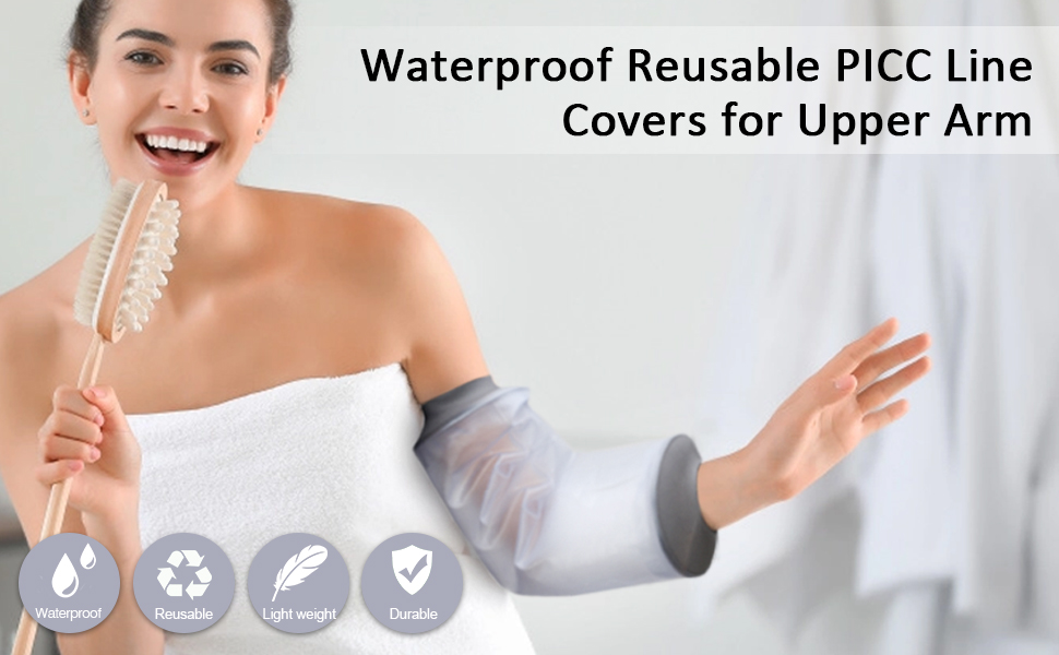 picc line shower cover