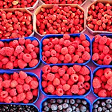 All types of berries