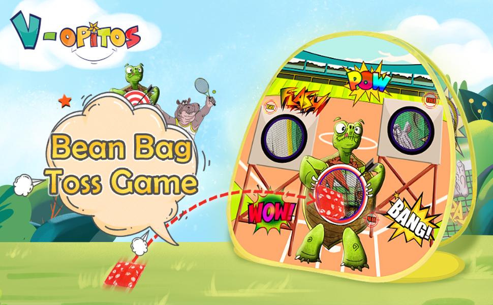 bean bag toss for kids outdoor
