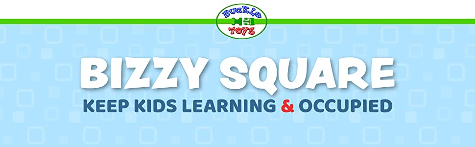 Bizzy Square Buckle Toy