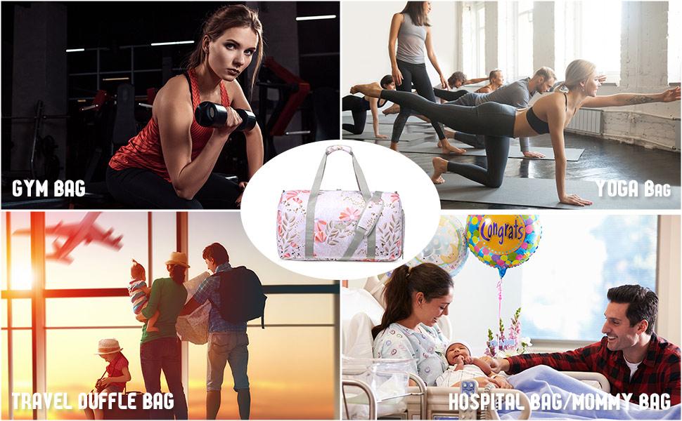 gym bag for women womens gym bag gym duffle bag weekender bags for women carry on bag women