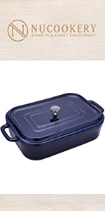 bakeware with lid