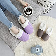 home slippers for mom and daughter