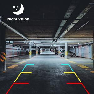 night vision car rear view camera