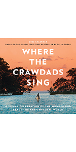 Where the Crawdads Sing calendar