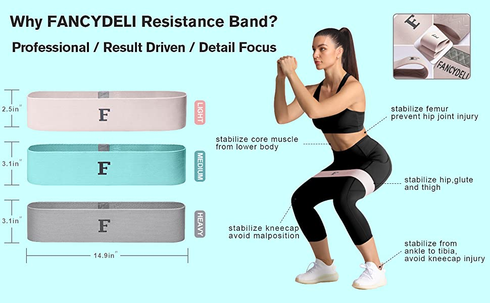 resistance band fabric exercise booty fitness gyn workout trx heavy plus size women