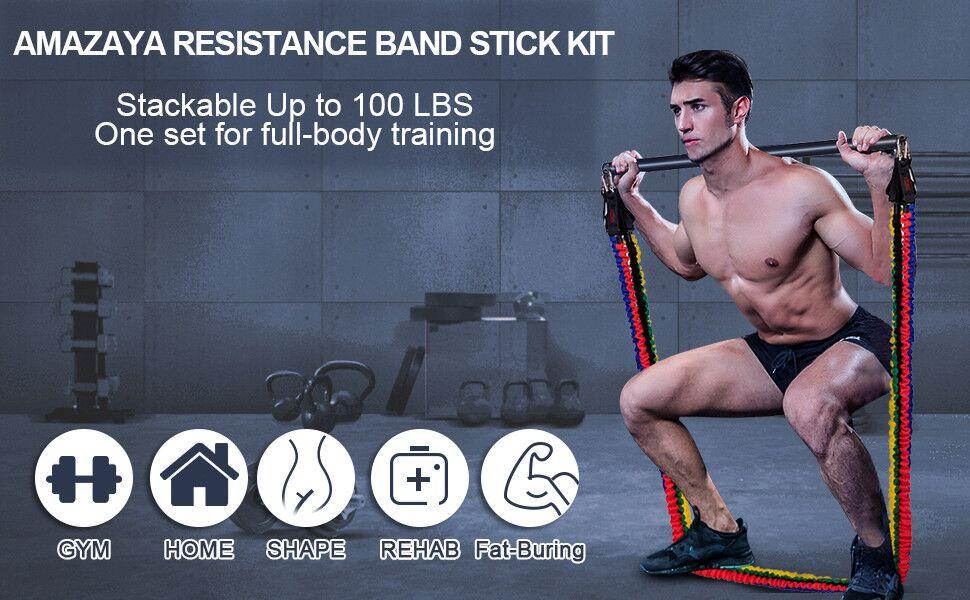 Resistance Band with Bar