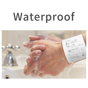 waterproof memo