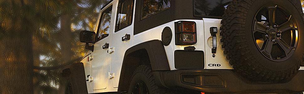 jeep jk door handles