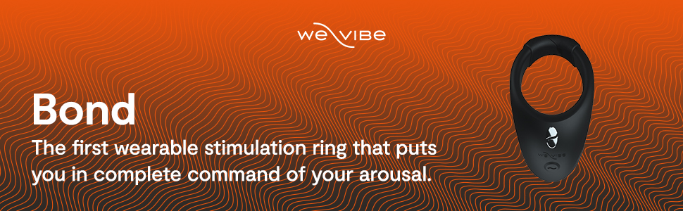 We-Vibe Bond Vibrating Ring Wearable Smart Toy for Men & Couples